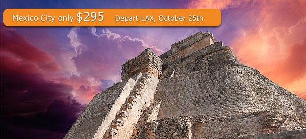 Super Cheap Airfare To Mexico City