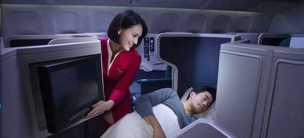 The Best Business Class Airlines for International Flights